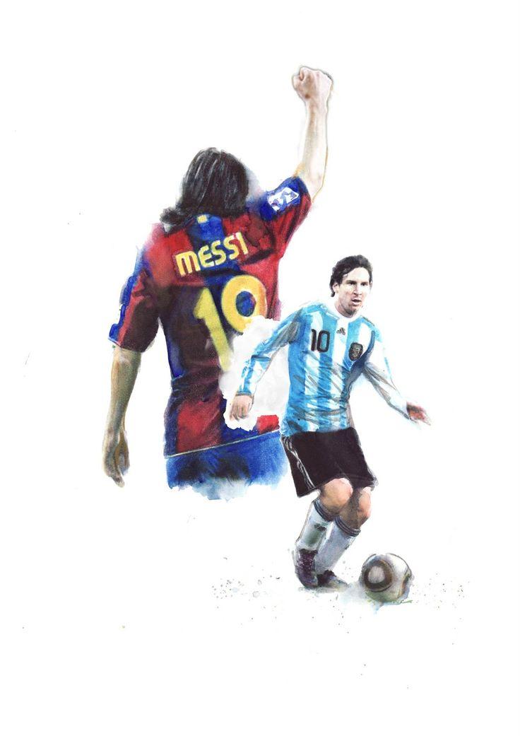 BERTO MARTÍNEZ: Messi JFK