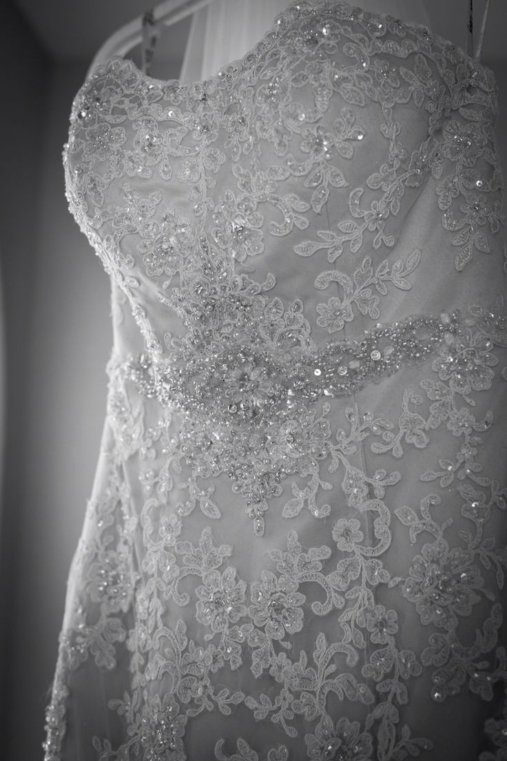 Wedding Dress bespoke additional embellishments