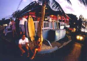 Calypso Cafe Surf, fun, tropical drinks, spectacular sunsets,and great gifts at Maria's Beach in Rincon, Puerto Rico Come inside and check out Calypso's Tropical Bar, Caribbean Casuals Gift Shop, HotWavz Surf Shop, and more info about beautiful Rincon, Puerto Rico. We are on the West Coast of Puerto Rico, the Best Coast of Puerto Rico! Proprietor - Cindie Rice For more information on Rincon, Puerto Rico please visit www.rinconpr.com