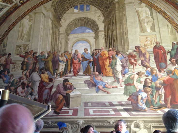 School of Athens- Raphael  at the Vatican museums