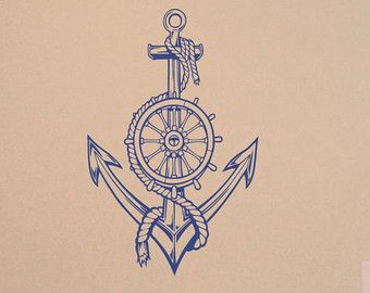 Boat Wheel Tattoos Picture