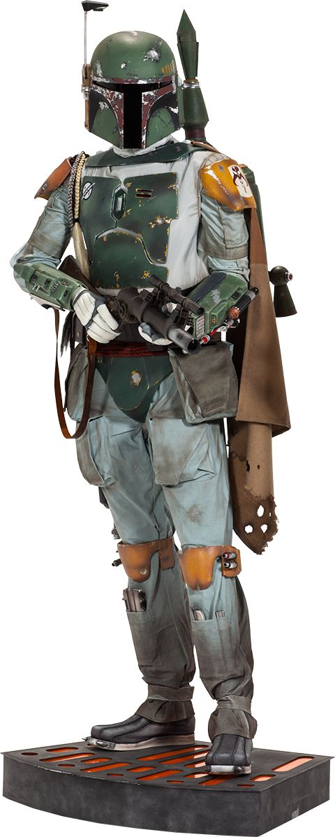Boba Fett Life-Size Figure $7499!  Click on picture links to see more pics, details, and to pre-order this bad ass!