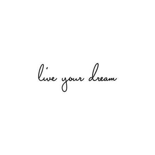 Live you dream... www.ClaytonBP.com
