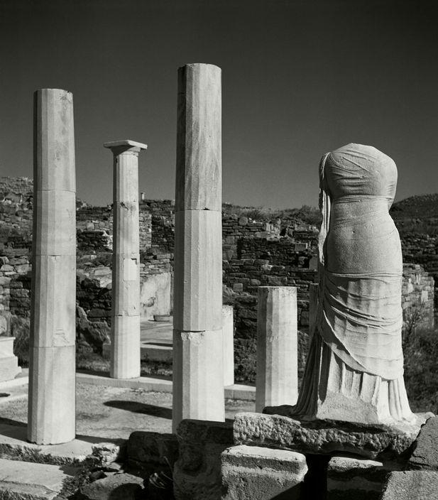 © Herbert List/Magnum Photos GREECE. Athens. The Acropolis. Temple of Nikae. 1937.