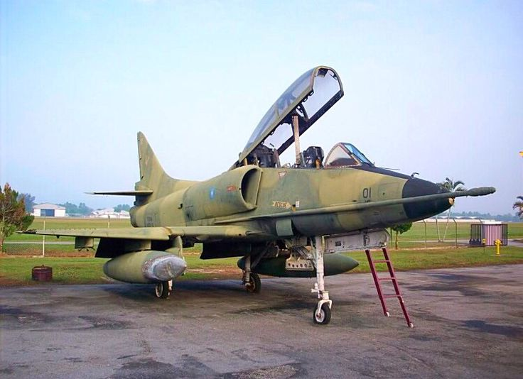 Malaysian Air Force Douglas A-4 Skyhawk.