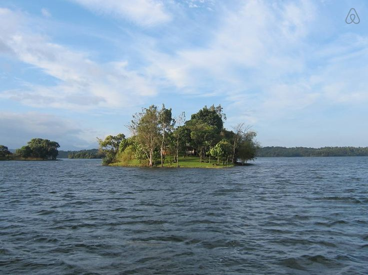 Check out this awesome listing on Airbnb: Your own Island in lake near Manila in Cavinti