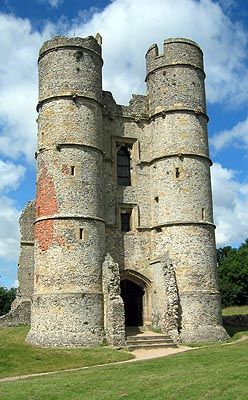 Donnington Castle, Newbury, Berkshire England. The site of my wedding photos! -Beth