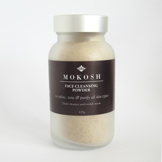Daily exfoliant, face mask... many ways to use this Face Cleansing Powder to take care of your skin...and of the planet. By Mokosh