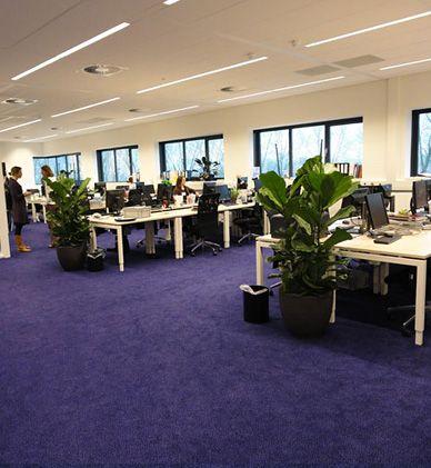 PROSENSA | Jaar: 2011 | Locatie: Leiden | Inrichting: Kantoor-, Ontvangst- en Management meubelen | Ontwerp: Van Egmond Interieur Architectuur | Omschrijving: Prosensa is een Bio Farmaceutisch bedrijf dat zich toelegt op het ontwikkelen van innovatieve RNA gebaseerde therapieën. Sinds 2002 is Prosensa gevestigd in Leiden, het bedrijf werkt samen met de Leiden Universiteit Medisch Centrum (LUMC). PVO interieur heeft de transparante en open werkomgeving ingericht.
