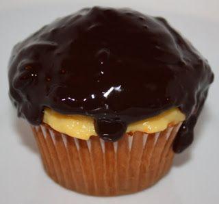 Cream Pie Cupcakes   Cupcakes   Pinterest   Boston, Boston Cream Pie ...