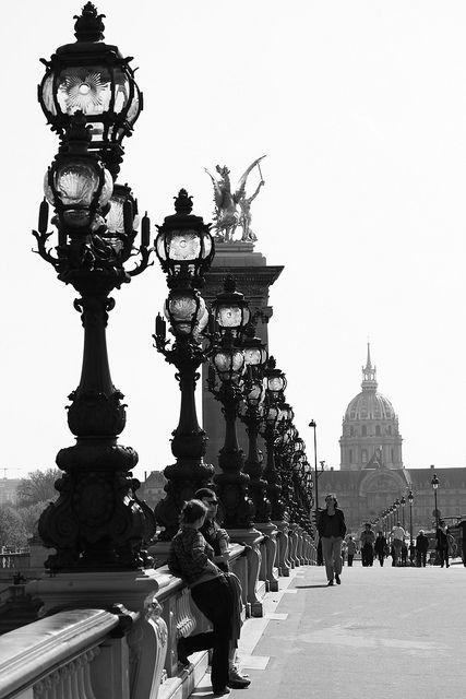Ponte Alessandro III, Parigi by luzam 68 on Flickr.