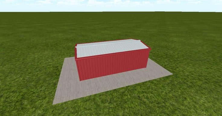 Cool 3D #marketing http://ift.tt/2qg3joE #barn #workshop #greenhouse #garage #roofing #DIY