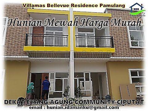Dijual Rumah Cluster Mewah Minimalis Villamas Bellevue Pamulang | Rumah ...