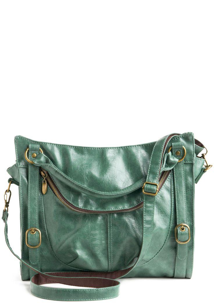 Sea glass colored bag