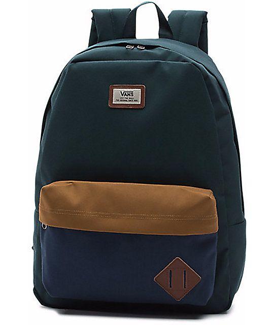 Vans Old Skool Ii Green Gables Backpack In 2019 V A N S