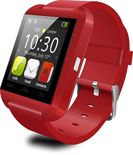 Touch Screen Smartwatch U Watch U8 Answer and Dial the Phone Bluetooth Photograph Altitude Meter for Iphone 6 6plus 5c 5s 5 HTC Lg Sony Sumsung (Red) Tech http://www.amazon.com/dp/B00WBCTY3O/ref=cm_sw_r_pi_dp_u1WCvb0Y4SQ8W