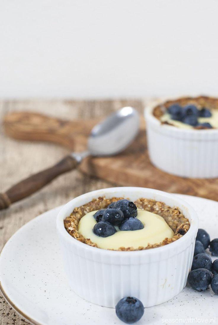 Een bord havermout is niet echt charmant. Maak eens deze ontbijtcups van havermout en zet een mooi, lekker en gezond ontbijt op tafel.