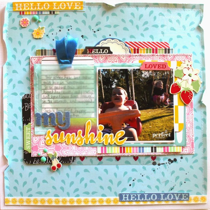 Polly! Scrapbooking & Pocket Scrapbooking Kits: Watermelon Gelato kit with Bernii Miller
