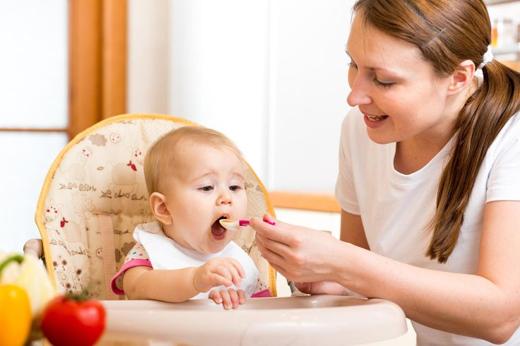 What to feed a baby who's between jar food and solids.