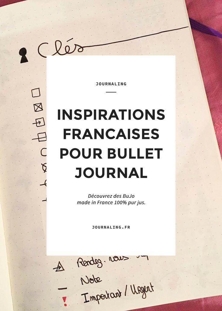 Pour cette nouvelle fournée de Bullet Journal français, j'ai le plaisir de vous présenter 2 BuJo aux styles totalement différents: l'un est coloré, l'autre