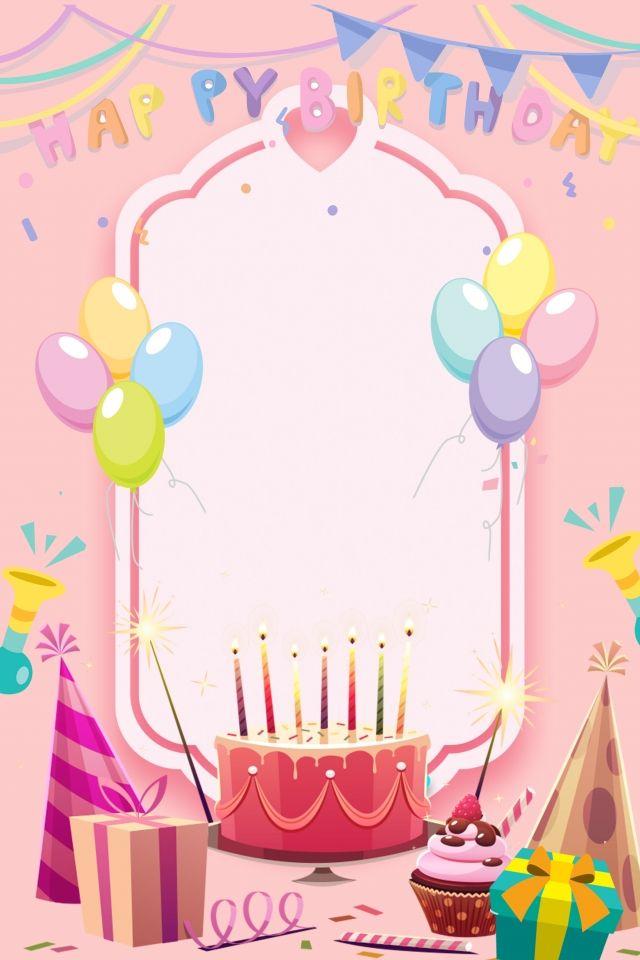 Birthday Candles Happy Birthday Frame Happy Birthday Wallpaper