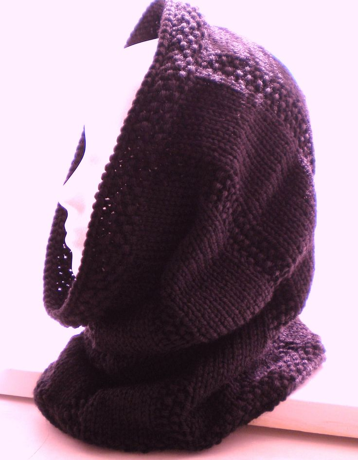 KNITTED COWL /hood PATTERN. USD3.50, via Etsy. Someday ...