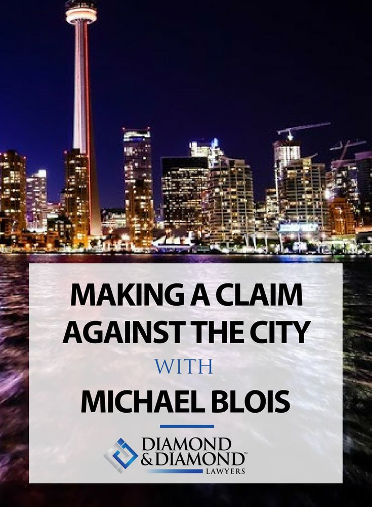 In general, if you're injured because of negligence, you have the right to make a claim for compensation. But what if you want to make a claim against a city or municipality in Ontario? Michael Blois discusses the proper steps to take if you want to make a claim against a city, and the different standards you have to think about depending on the claim. Read more here.