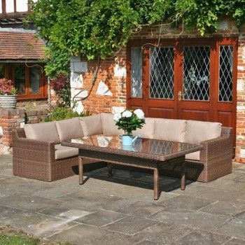 newbury low dining rattan sofa set this one is x thoughts on colours needs warmer colour