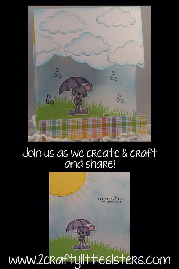 Pink and Main Rain or Shine Clear Card | !! Make It. Live It. Love ...