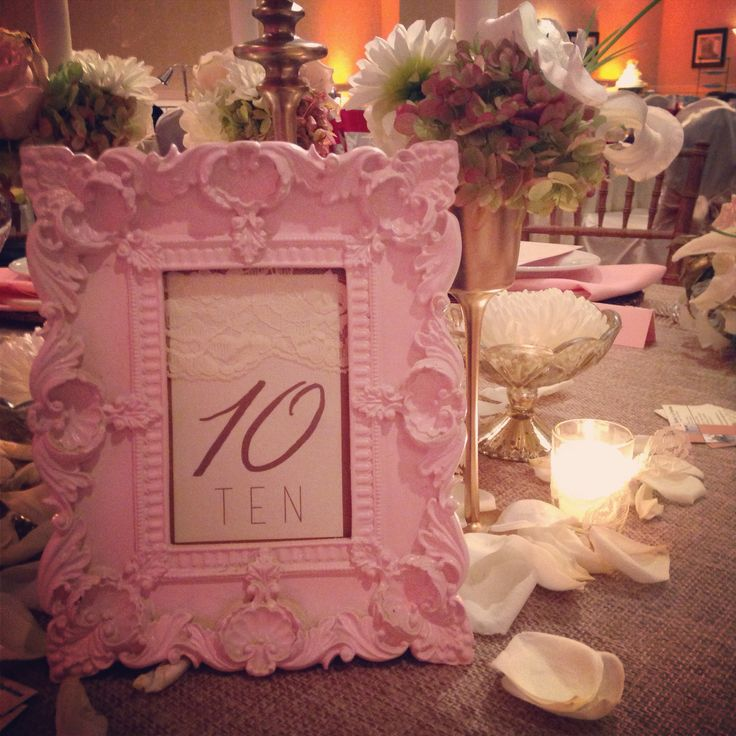 27 best images about some of our table numbers on for Table 52 number