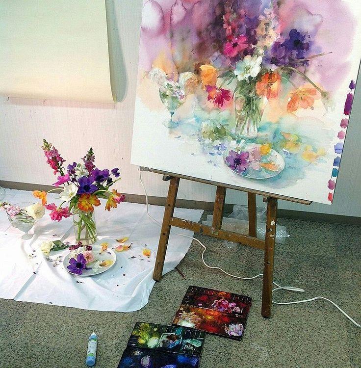 Copleșitor de frumoase acuarelele artistei Yuko Nagayama   Adela Pârvu – jurnalist home & garden