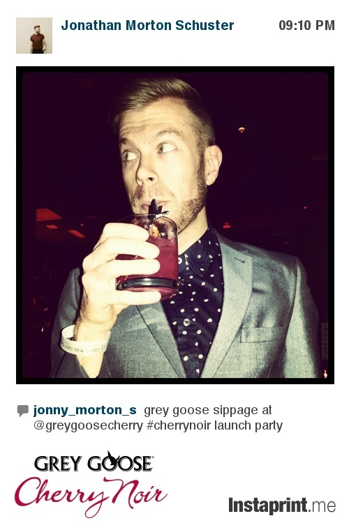 MTV 1 Girl 5 Gays star Jonathan Morton S. at the #cherrynoir launch in Toronto.