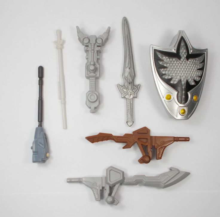 Power Rangers - Action Toy Figure - Accessories - Bandai