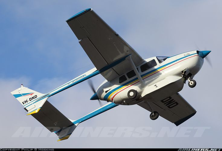 Cessna 337 Skymaster Vh Dnd Picture Of The Cessna 337