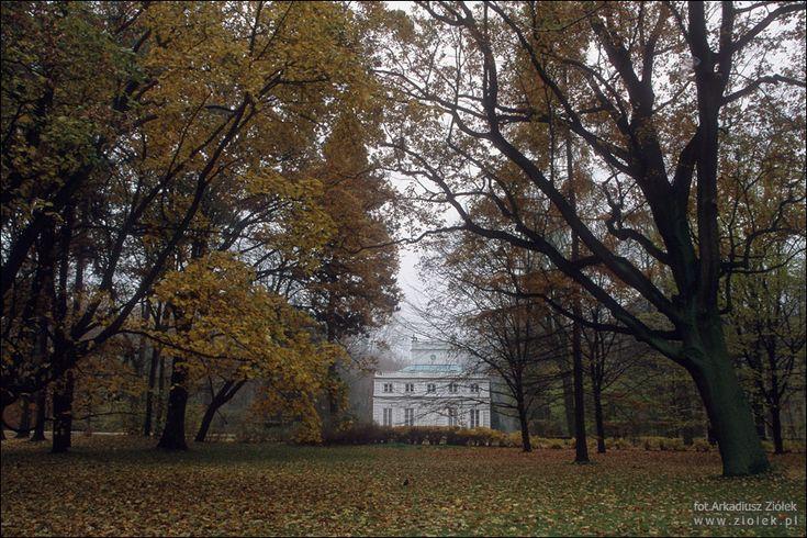 Biały Dom w Łazienkach Królewskich