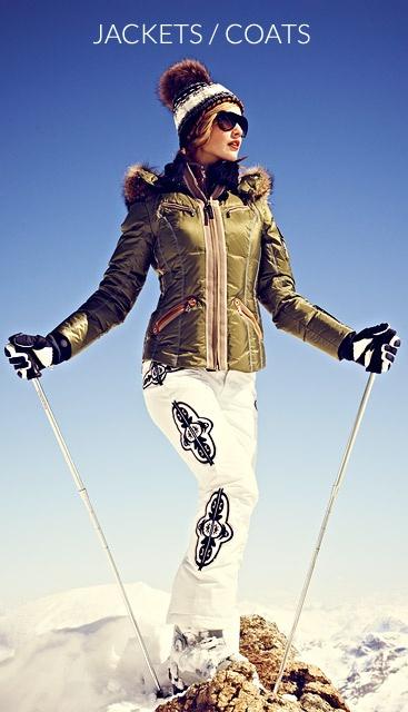 Women | Ski Jackets, Golf Clothing, Women Ski Pants | Bogner Women...nice jacket!