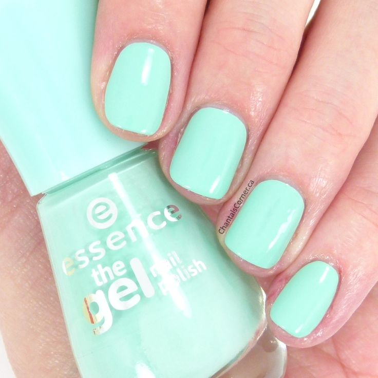 "essence ""play with my mint"" nail polish"