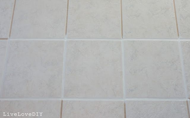 How To Restore Dirty Tile Grout Grout Sealer With White