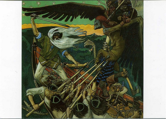 Kalevala art wish i knew more, very interesting??