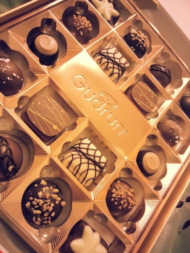 Gudrun Chocolates best and richest chocolate ever. Yumm