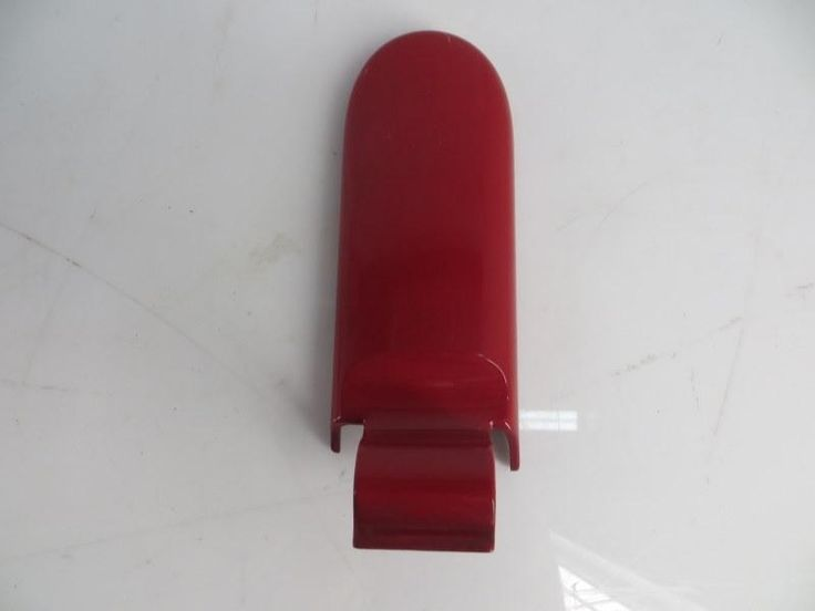 51247135272 05-08 Mini Cooper Convertible Right Rear Tailgate Hinge Cover Red R52 87