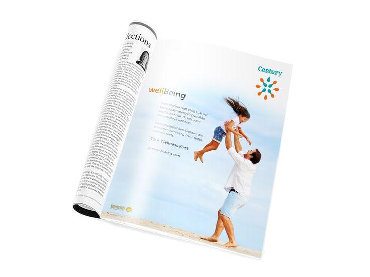Print Ad Century Healthcare #MakkiMakki #BrandnBranding #MMSBC