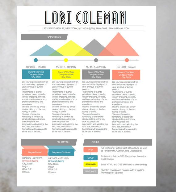 19 best resume infographics images on pinterest