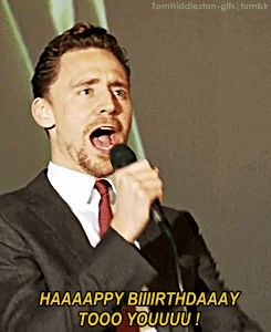 (gifset) Tom, my birthday is in a month & a half. I expect you to be there singing to me. Please. That's all I want. :)