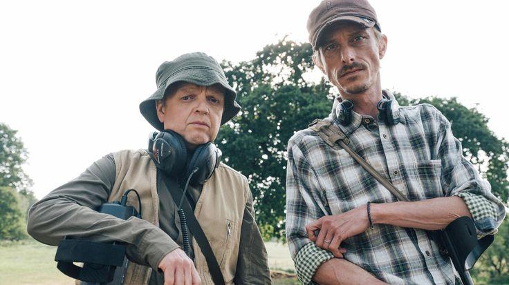 Treasure hunt: Toby Jones and Mackenzie Crook as the metal-detecting duo