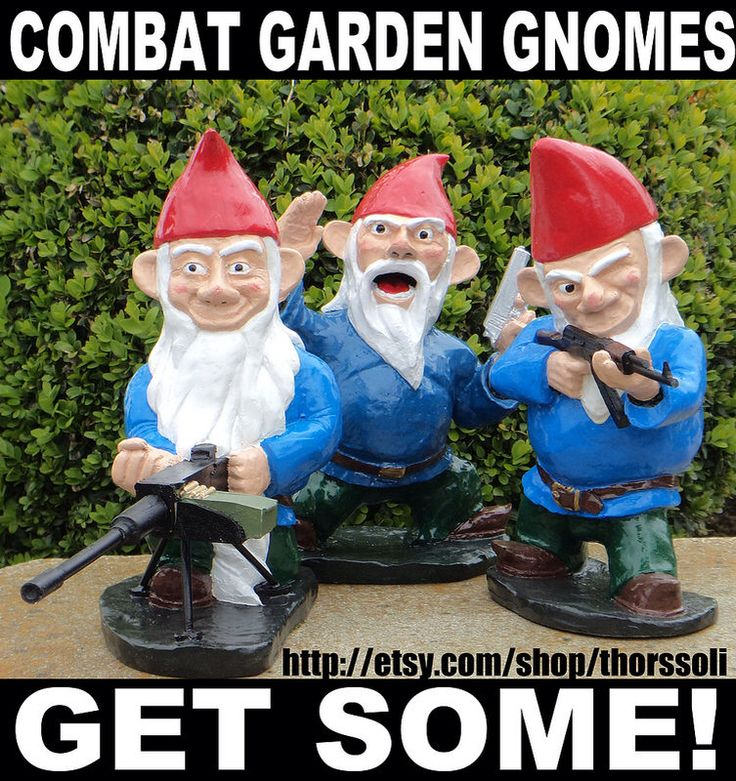 Combat Garden Gnomes: Gearing Up For The Holidays