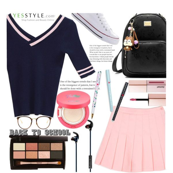 Let's get ready for school~YesStyle by yesstyle on Polyvore featuring chuu and BeiBaoBao