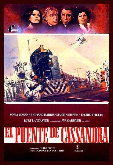 Cartel de la película, El puente de Cassandra (1976)