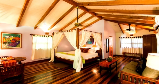 Belieze: 8 Days/7 Nights in a Honeymoon Suite or Treehouse Room featuring 5 adventures per person.  Food but no drinks