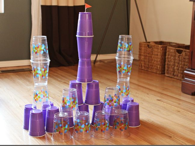 Best Playtime Activities Ever: Cup Castles